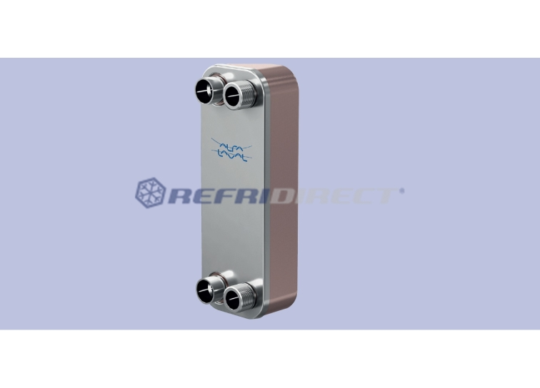 brazed plate heat exchanger Alfa-Laval Artec mod. CB 30/24